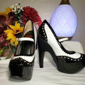 T.U.K. Mary Jane Heels